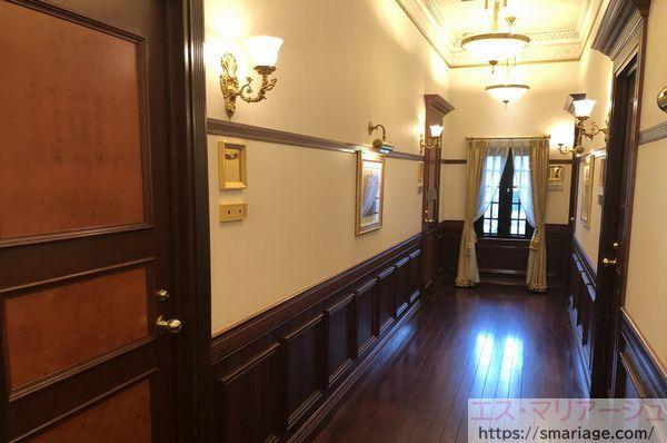 親族控室・廊下