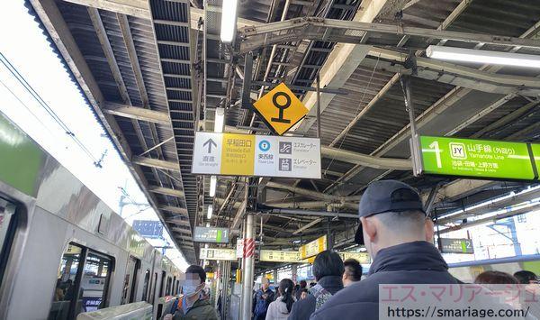 高田馬場駅・早稲田口