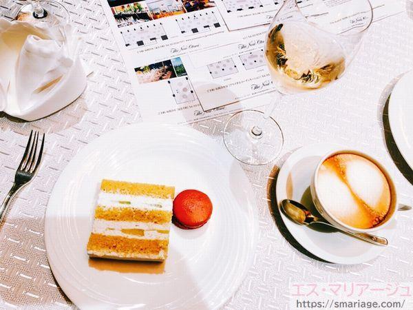 シャンパン・ケーキ・マカロン