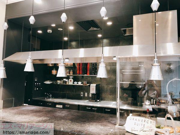 オープンキッチン