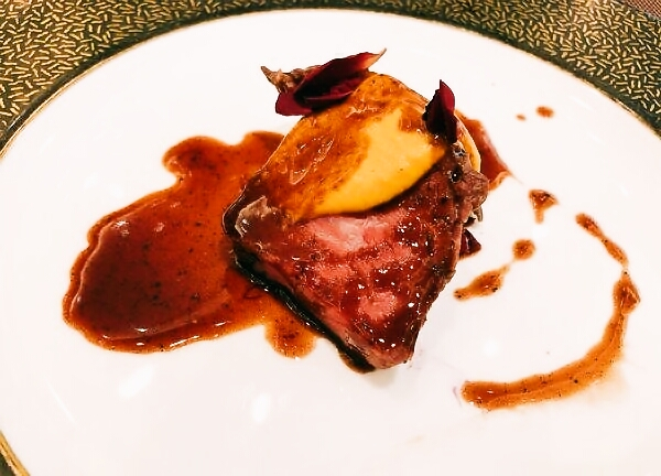 国産牛フィレ肉のロッシーニ