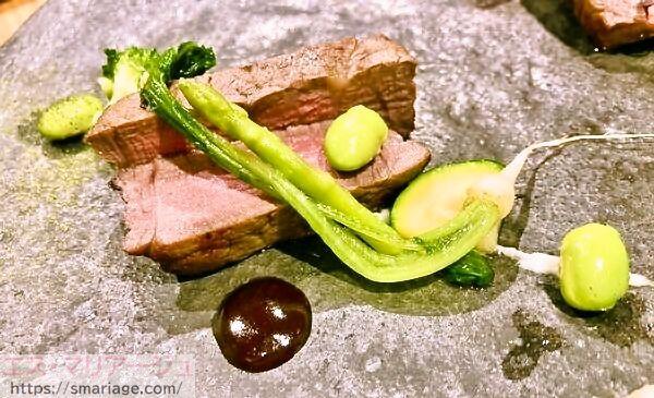 若草の牛フィレ肉