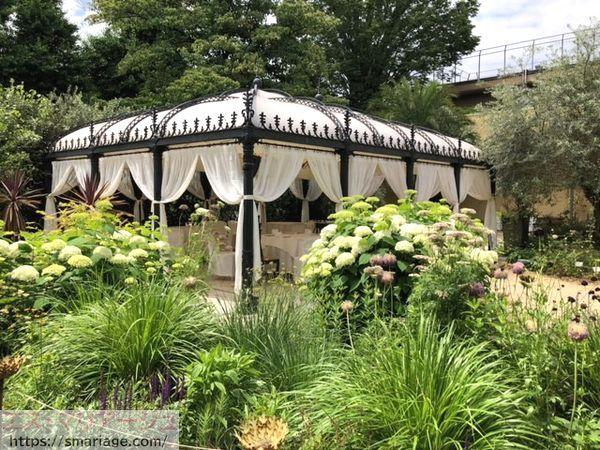 ガーデンとテント
