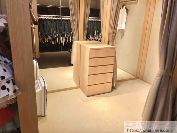 両親の更衣室