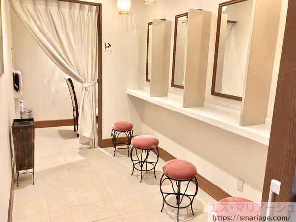 パウダールーム&授乳室