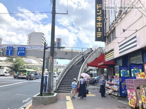 亀戸駅前交差点