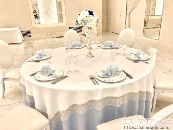 ゲスト用テーブル