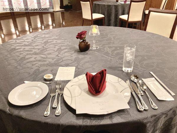 試食・テーブルセット