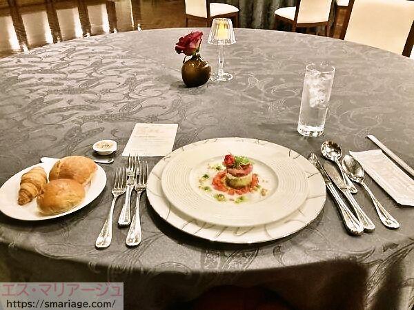 パンと前菜